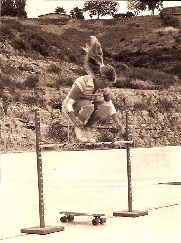 Ellen O'Neal, la primera skater profesional. [1976]