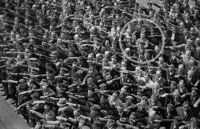 El hombre que se negó a hacer el saludo nazi, 1936