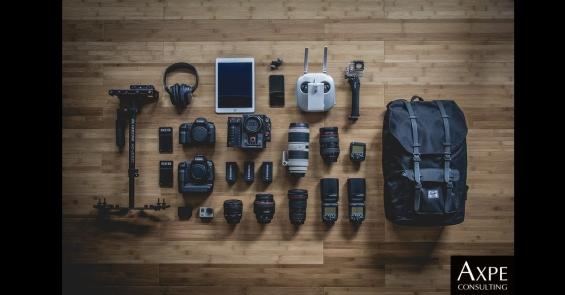 equipo de fotografia