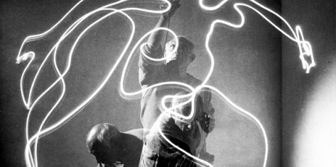 lightpainting Picasso