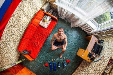 La habitación # 416 - Oleg, Nobosibirsk, Rusia