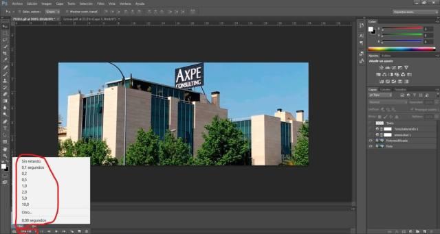 Crear GIF Photoshop
